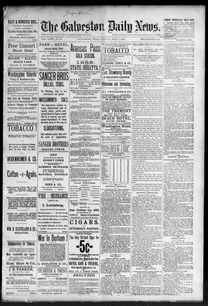 Primary view of object titled 'The Galveston Daily News. (Galveston, Tex.), Vol. 47, No. 66, Ed. 1 Sunday, July 1, 1888'.