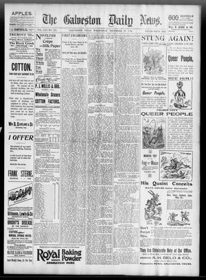 Primary view of object titled 'The Galveston Daily News. (Galveston, Tex.), Vol. 53, No. 271, Ed. 1 Wednesday, December 19, 1894'.