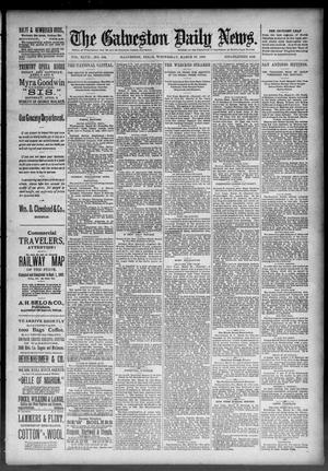 Primary view of object titled 'The Galveston Daily News. (Galveston, Tex.), Vol. 47, No. 334, Ed. 1 Wednesday, March 27, 1889'.