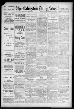 Primary view of object titled 'The Galveston Daily News. (Galveston, Tex.), Vol. 47, No. 230, Ed. 1 Thursday, December 13, 1888'.