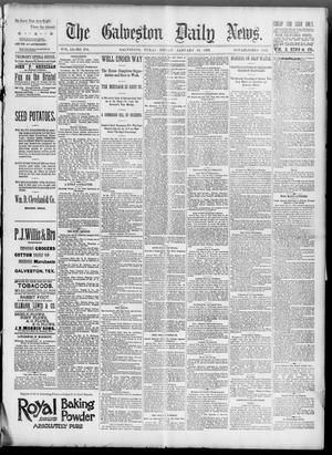 Primary view of object titled 'The Galveston Daily News. (Galveston, Tex.), Vol. 51, No. 295, Ed. 1 Friday, January 13, 1893'.
