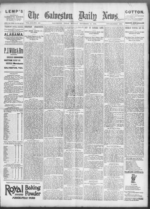 Primary view of object titled 'The Galveston Daily News. (Galveston, Tex.), Vol. 52, No. 235, Ed. 1 Monday, November 13, 1893'.