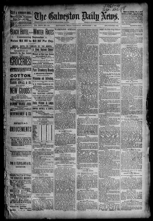 Primary view of object titled 'The Galveston Daily News. (Galveston, Tex.), Vol. 47, No. 128, Ed. 1 Saturday, September 1, 1888'.