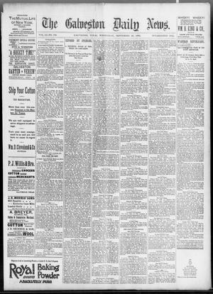 Primary view of object titled 'The Galveston Daily News. (Galveston, Tex.), Vol. 51, No. 188, Ed. 1 Wednesday, September 28, 1892'.