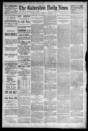 Primary view of object titled 'The Galveston Daily News. (Galveston, Tex.), Vol. 47, No. 146, Ed. 1 Wednesday, September 19, 1888'.