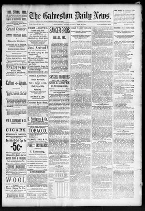 Primary view of object titled 'The Galveston Daily News. (Galveston, Tex.), Vol. 47, No. 24, Ed. 1 Sunday, May 20, 1888'.