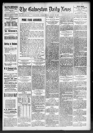 Primary view of object titled 'The Galveston Daily News. (Galveston, Tex.), Vol. 46, No. 115, Ed. 1 Friday, August 19, 1887'.