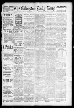 Primary view of object titled 'The Galveston Daily News. (Galveston, Tex.), Vol. 49, No. 15, Ed. 1 Tuesday, May 13, 1890'.