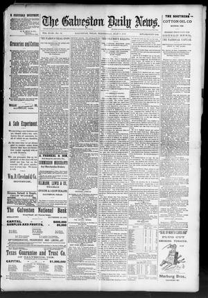 Primary view of object titled 'The Galveston Daily News. (Galveston, Tex.), Vol. 49, No. 72, Ed. 1 Wednesday, July 9, 1890'.