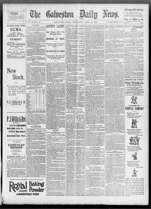 Primary view of object titled 'The Galveston Daily News. (Galveston, Tex.), Vol. 52, No. 26, Ed. 1 Wednesday, April 19, 1893'.