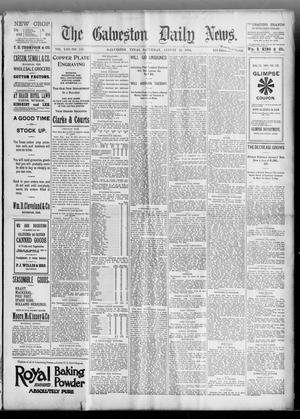 Primary view of object titled 'The Galveston Daily News. (Galveston, Tex.), Vol. 53, No. 155, Ed. 1 Saturday, August 25, 1894'.