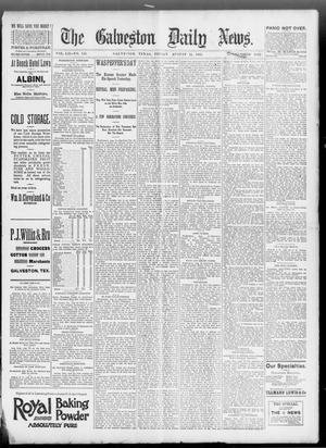 Primary view of object titled 'The Galveston Daily News. (Galveston, Tex.), Vol. 52, No. 155, Ed. 1 Friday, August 25, 1893'.
