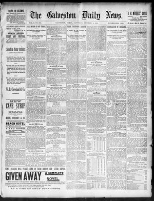 Primary view of object titled 'The Galveston Daily News. (Galveston, Tex.), Vol. 50, No. 193, Ed. 1 Saturday, October 3, 1891'.