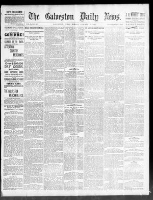 Primary view of object titled 'The Galveston Daily News. (Galveston, Tex.), Vol. 50, No. 307, Ed. 1 Monday, January 25, 1892'.