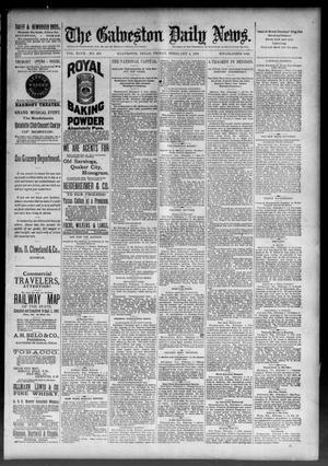 Primary view of object titled 'The Galveston Daily News. (Galveston, Tex.), Vol. 47, No. 287, Ed. 1 Friday, February 8, 1889'.