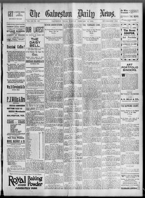 Primary view of object titled 'The Galveston Daily News. (Galveston, Tex.), Vol. 52, No. 327, Ed. 1 Tuesday, February 13, 1894'.