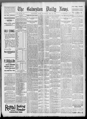 Primary view of object titled 'The Galveston Daily News. (Galveston, Tex.), Vol. 52, No. 125, Ed. 1 Wednesday, July 26, 1893'.