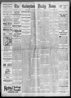 Primary view of object titled 'The Galveston Daily News. (Galveston, Tex.), Vol. 52, No. 350, Ed. 1 Thursday, March 8, 1894'.