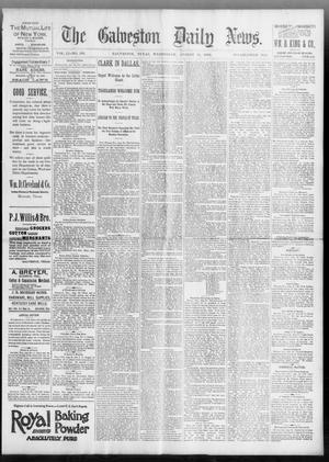 Primary view of object titled 'The Galveston Daily News. (Galveston, Tex.), Vol. 51, No. 160, Ed. 1 Wednesday, August 31, 1892'.