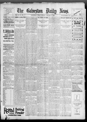 Primary view of object titled 'The Galveston Daily News. (Galveston, Tex.), Vol. 52, No. 291, Ed. 1 Monday, January 8, 1894'.