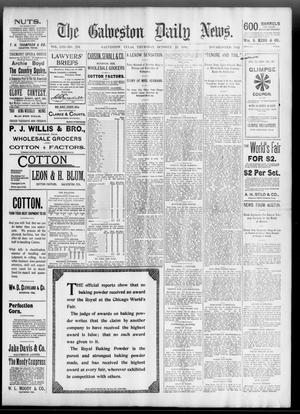 Primary view of object titled 'The Galveston Daily News. (Galveston, Tex.), Vol. 53, No. 216, Ed. 1 Thursday, October 25, 1894'.