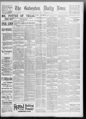 Primary view of object titled 'The Galveston Daily News. (Galveston, Tex.), Vol. 51, No. 274, Ed. 1 Friday, December 23, 1892'.
