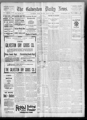 Primary view of object titled 'The Galveston Daily News. (Galveston, Tex.), Vol. 53, No. 150, Ed. 1 Monday, August 20, 1894'.
