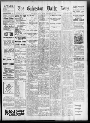 Primary view of object titled 'The Galveston Daily News. (Galveston, Tex.), Vol. 53, No. 266, Ed. 1 Friday, December 14, 1894'.