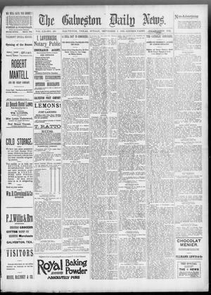 Primary view of object titled 'The Galveston Daily News. (Galveston, Tex.), Vol. 52, No. 164, Ed. 1 Sunday, September 3, 1893'.