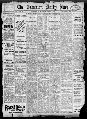 Primary view of object titled 'The Galveston Daily News. (Galveston, Tex.), Vol. 52, No. 284, Ed. 1 Monday, January 1, 1894'.