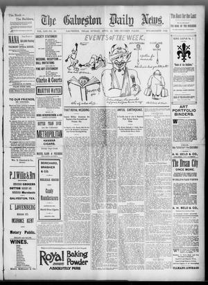 Primary view of object titled 'The Galveston Daily News. (Galveston, Tex.), Vol. 53, No. 30, Ed. 1 Sunday, April 22, 1894'.