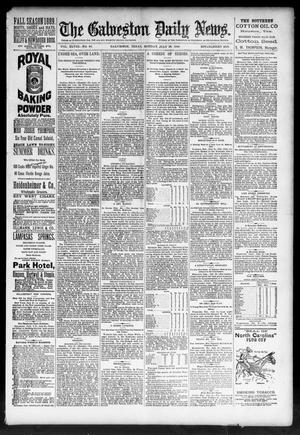 Primary view of object titled 'The Galveston Daily News. (Galveston, Tex.), Vol. 48, No. 86, Ed. 1 Monday, July 22, 1889'.