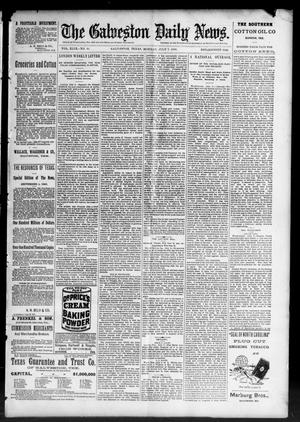 Primary view of object titled 'The Galveston Daily News. (Galveston, Tex.), Vol. 49, No. 70, Ed. 1 Monday, July 7, 1890'.