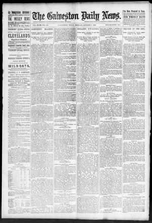 Primary view of object titled 'The Galveston Daily News. (Galveston, Tex.), Vol. 49, No. 160, Ed. 1 Monday, October 6, 1890'.