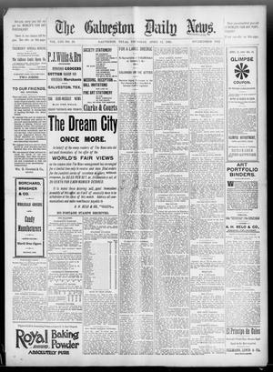 Primary view of The Galveston Daily News. (Galveston, Tex.), Vol. 53, No. 20, Ed. 1 Thursday, April 12, 1894