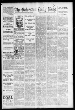 Primary view of object titled 'The Galveston Daily News. (Galveston, Tex.), Vol. 48, No. 279, Ed. 1 Friday, January 31, 1890'.