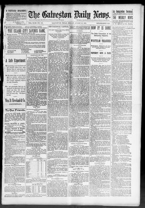 Primary view of The Galveston Daily News. (Galveston, Tex.), Vol. 49, No. 108, Ed. 1 Friday, August 15, 1890