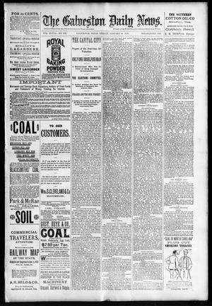 Primary view of The Galveston Daily News. (Galveston, Tex.), Vol. 48, No. 272, Ed. 1 Friday, January 24, 1890