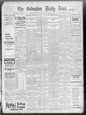 Primary view of object titled 'The Galveston Daily News. (Galveston, Tex.), Vol. 52, No. 279, Ed. 1 Wednesday, December 27, 1893'.