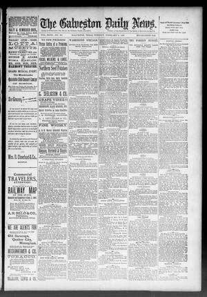 Primary view of The Galveston Daily News. (Galveston, Tex.), Vol. 47, No. 284, Ed. 1 Tuesday, February 5, 1889