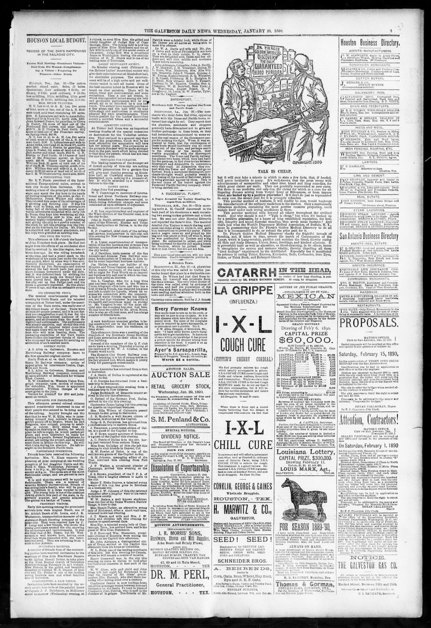 The Galveston Daily News. (Galveston, Tex.), Vol. 48, No. 277, Ed. 1 ...