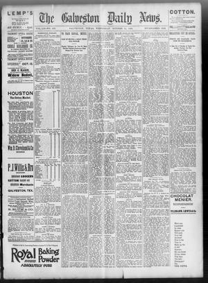 Primary view of object titled 'The Galveston Daily News. (Galveston, Tex.), Vol. 52, No. 202, Ed. 1 Wednesday, October 11, 1893'.