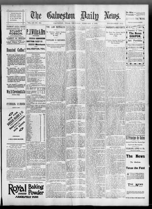 Primary view of object titled 'The Galveston Daily News. (Galveston, Tex.), Vol. 52, No. 322, Ed. 1 Thursday, February 8, 1894'.