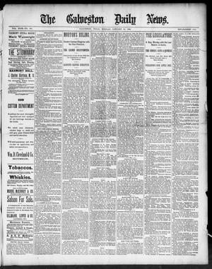 Primary view of The Galveston Daily News. (Galveston, Tex.), Vol. 49, No. 265, Ed. 1 Tuesday, January 20, 1891