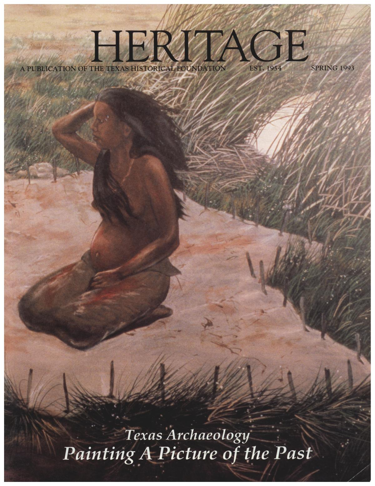 Heritage, Volume 11, Number 2, Spring 1993                                                                                                      Front Cover