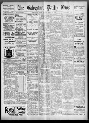 Primary view of object titled 'The Galveston Daily News. (Galveston, Tex.), Vol. 52, No. 361, Ed. 1 Monday, March 19, 1894'.