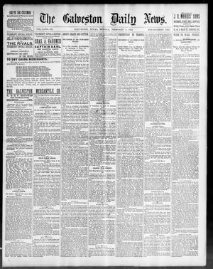 Primary view of object titled 'The Galveston Daily News. (Galveston, Tex.), Vol. 50, No. 321, Ed. 1 Monday, February 8, 1892'.