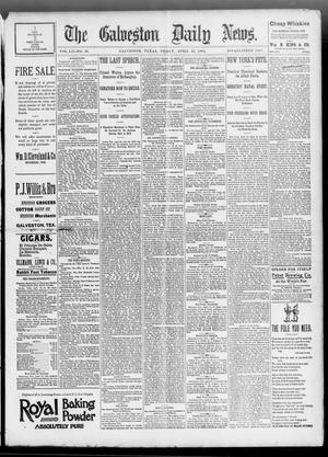 Primary view of object titled 'The Galveston Daily News. (Galveston, Tex.), Vol. 52, No. 36, Ed. 1 Friday, April 28, 1893'.