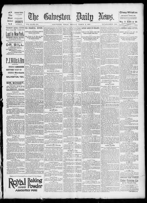 Primary view of object titled 'The Galveston Daily News. (Galveston, Tex.), Vol. 51, No. 347, Ed. 1 Monday, March 6, 1893'.
