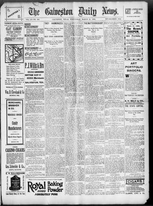Primary view of object titled 'The Galveston Daily News. (Galveston, Tex.), Vol. 52, No. 363, Ed. 1 Wednesday, March 21, 1894'.
